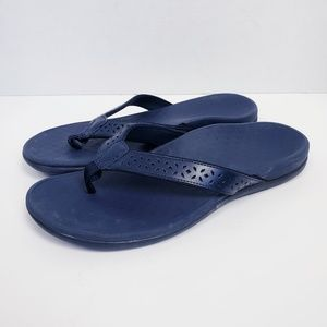 Vionic Tide Perf Thong Arch Support Sandals 10